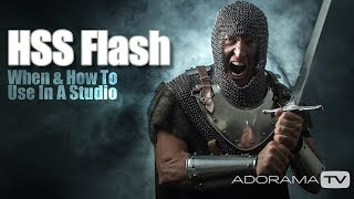 HSS Flash in the Studio: Take and Make Great Photography with Gavin Hoey