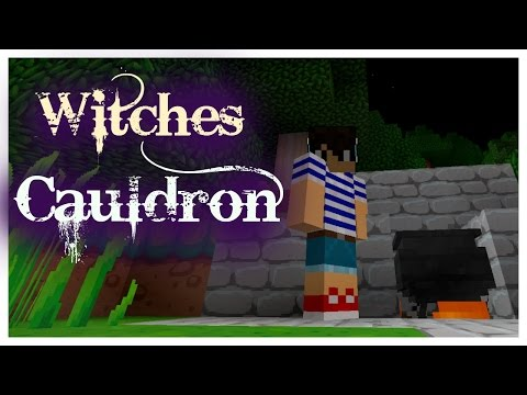 How to make a Witches Cauldron - Minecraft Ep 2