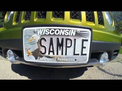 Get your Endangered Resources License Plate Today!