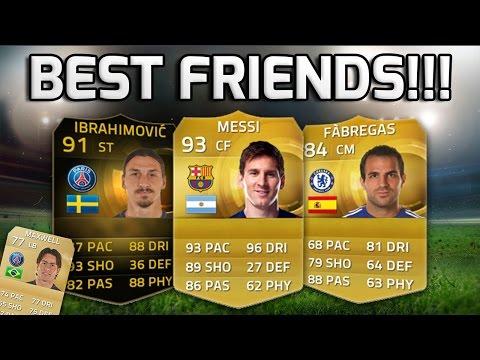 FIFA 15 - BEST FRIENDS!!! - A Team Of Best Friends In Football!