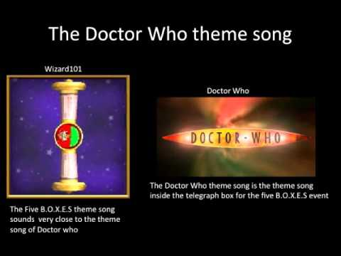 Doctor Who References in Wizard101