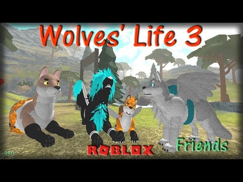 Roblox - Wolves' Life 3 - Friends V - HD