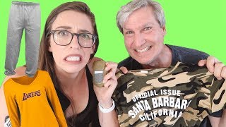 My Dad Buys My Outfits!