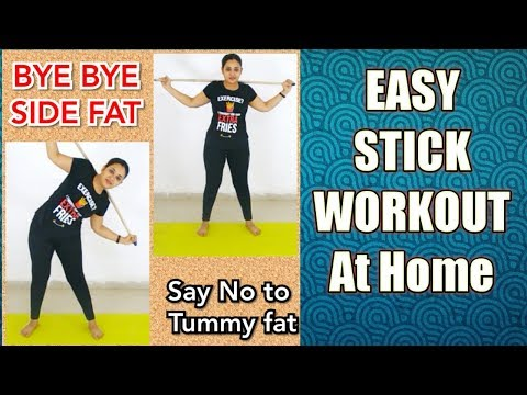 LOSE LOVE HANDLES || HOW TO GET RID OF SIDE FAT || EASY & QUICK EXERCISE AT HOME IN HINDI