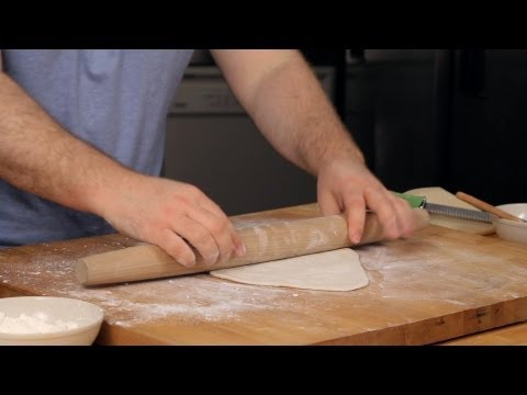 How to Roll & Shape Pizza Dough | Homemade Pizza