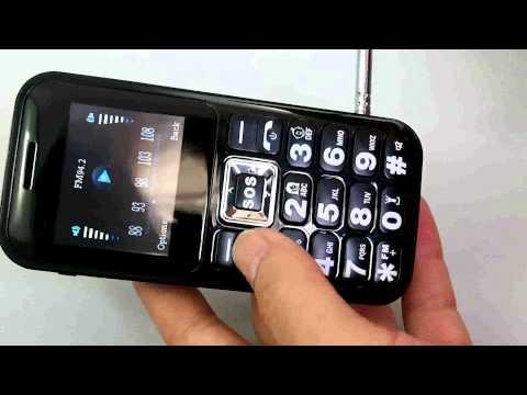 FM Radio Cell Phone C30 for Seniors -Big Speaker, Big Button, Radio Atenna