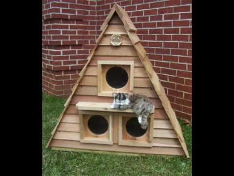 Outside Cat House - An Outdoor Cat Shelter for Cats
