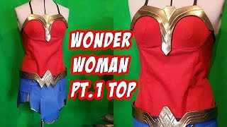 How to Wonder Woman Cosplay Costume Top Part 1