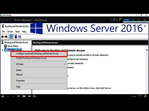 How to Active and Configure RRAS In Windows Server 2016 - 44