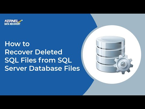 How to Recover Deleted SQL Files from SQL Server Database Files