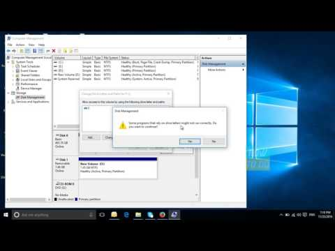 How to change the names of the Drives in My Computer or This PC(Windows 10)