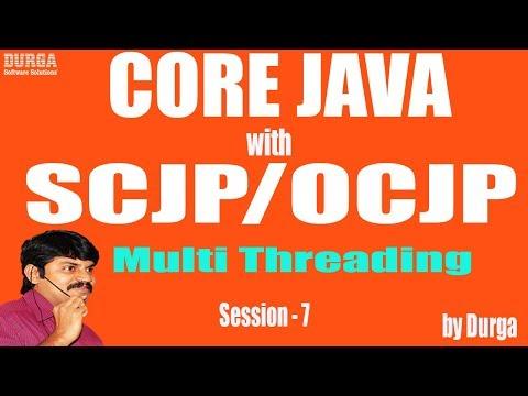 Core Java with OCJP/SCJP: Multi Threading Part-7 || synchronization part-1