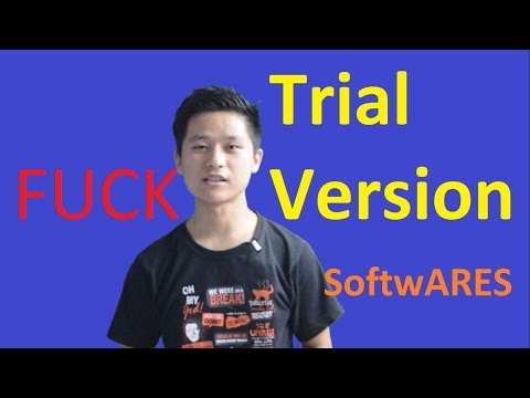 Use Trial Version softwares forever| How to extend trial version period?