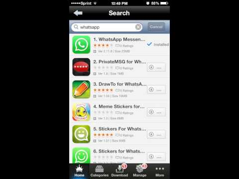 How to install Whatsapp on iPad and iPod Touch
