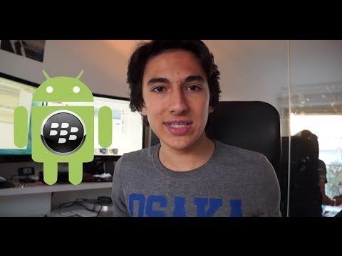 Installer des Applications Android sur BlackBerry !