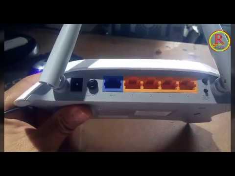 Cara reset ulang settingan seperti dari pabrik Tplink MR3420 3G/4G wireles N Router Versi terbaru.