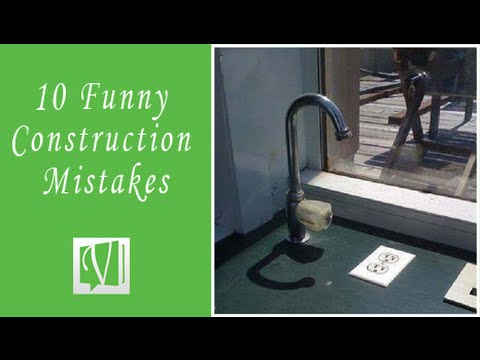 10 Funniest Construction & Engineering Mistakes in the World