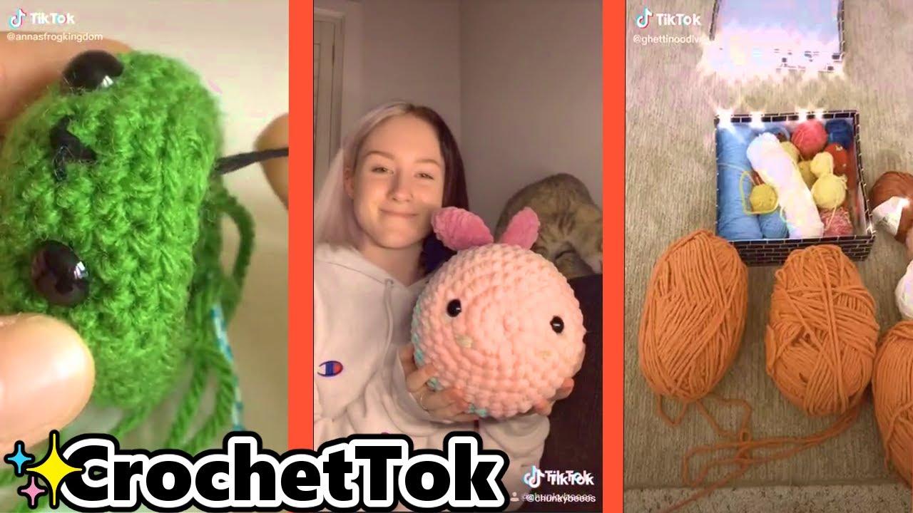 TikTok Knitting And Crochet Craft Compilation ☮️🧶 #3