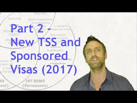 Changes to Sponsored visas - Part 2
