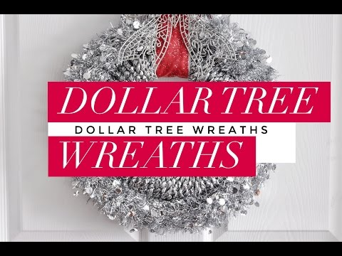 DIY | Dollar Tree Christmas Wreaths | Easy & Budget-Friendly