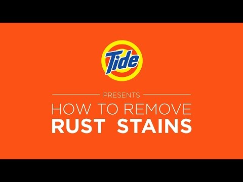 Tide | Laundry Tips: How to Remove Rust Stains
