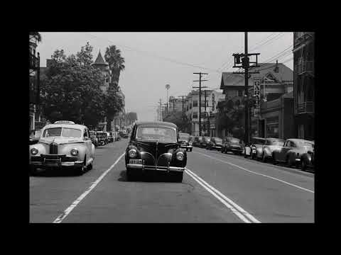 A drive through 1940's Los Angeles!