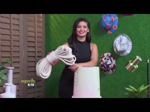 How To with Zoë Brown : DIY No-Sew Rope Basket