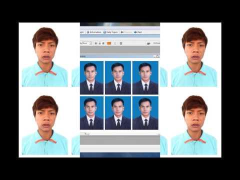 Khmer Speaking Photoshop Cs3: How To Make 4 x 6 Size