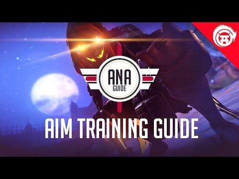 Overwatch Ana Aim Tutorial Guide - How To Play Ana Drills| Tips & Tricks OwDojo