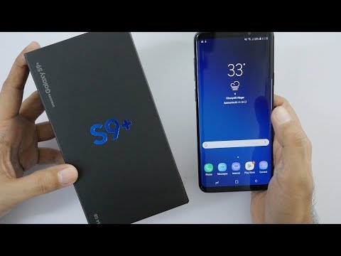 Samsung Galaxy S9+ Unboxing & Overview (Indian Unit)