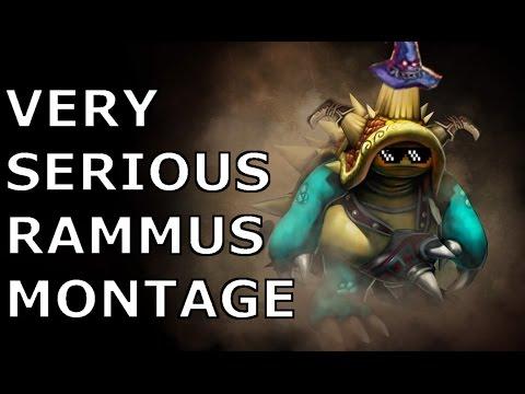 VERY SERIOUS AP RAMMUS MONTAGE