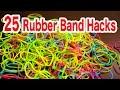 輪ゴムでできる25のこと/25 rubber band life hacks/100均の輪ゴム使いました