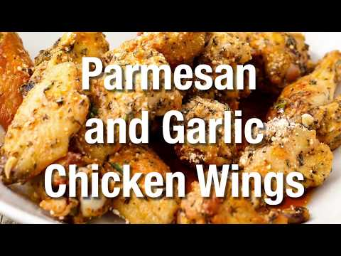 Comfort Food   HOW TO MAKE PARMESAN GARLIC CHICKEN WINGS   How to Feed a Loon