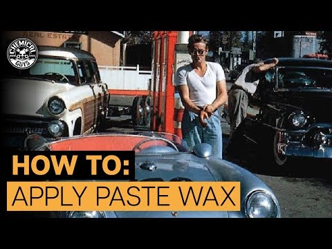How To Apply Paste Wax To Car | 1955 Porsche 550 Spyder | Chemical Guys