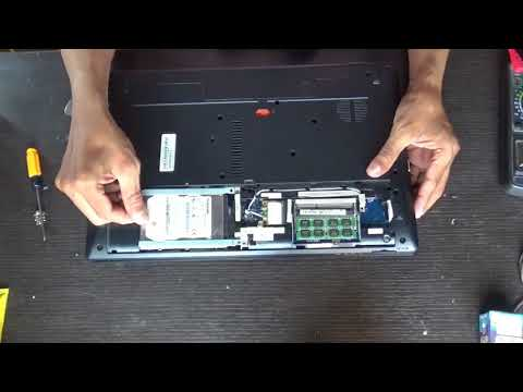 Acer Aspire V3 series Hard Drive Replacement