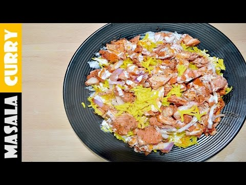 [NEW YORK] HALAL Cart Chicken Rice | New York Halal Cart Recipe | New York Halal Cart