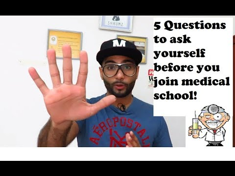 Is medical school for you? Should you become a doctor?