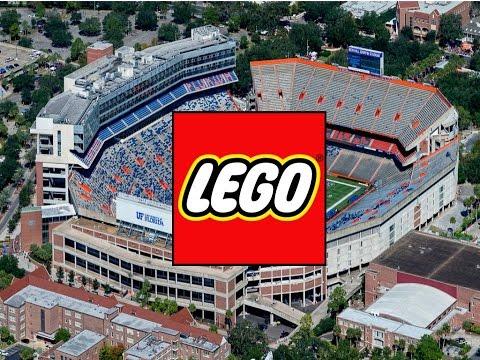 Lego Football Stadium (w/Instructions)