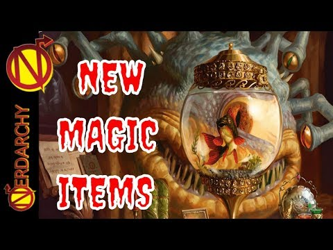 NEW Magic Items- Xanathar's Guide to Everything for 5E D&D
