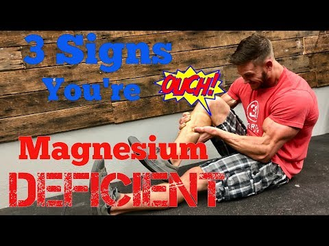 3 Signs that You're Magnesium Deficient