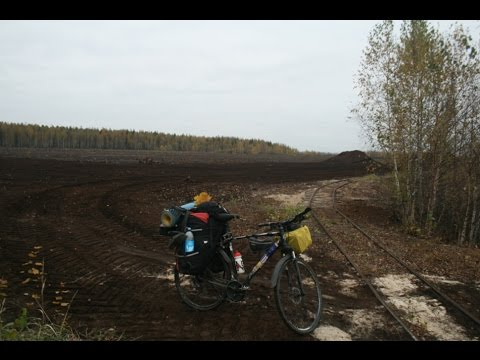 Bicycle trip in Oka Nature Reserve Ryazan region and test gas heater v3