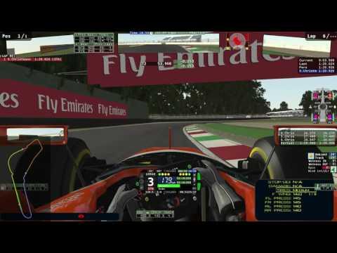 rFactor2 - ACFL - Testing @ Monza