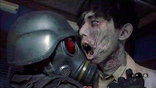 Resident Evil 2 Remake - NEW Gameplay 4th Survivor mode Hunk (2019)