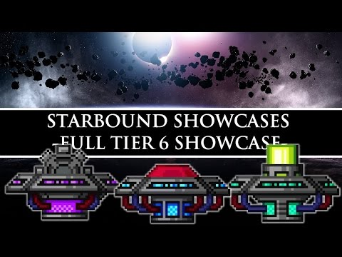 Starbound Showcase | Craftable Tier 6 Weapons/Armors