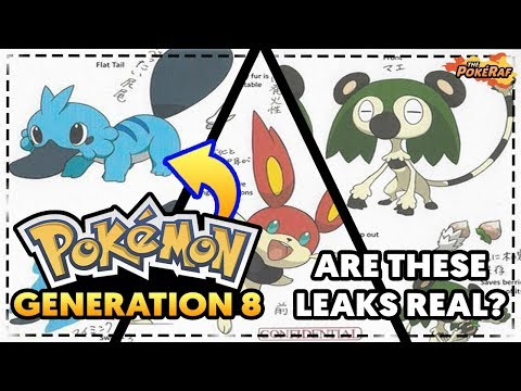 (DEBUNKED) BIG LEAKS/RUMOURS! Generation 8 STARTER POKEMON?! (Pokémon Switch Generation 8 Pokémon)