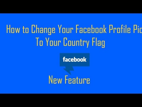 How to Change Your Facebook Profile Pic your Country Flag New Feature || by PAVAN KATARI