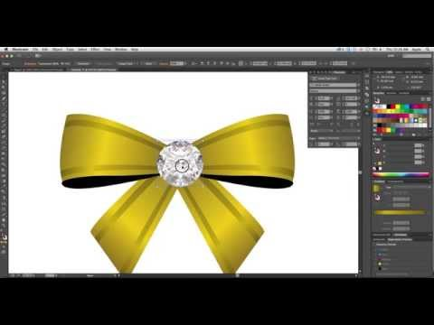 How to Create Ribbon in Adobe Illustrator CC