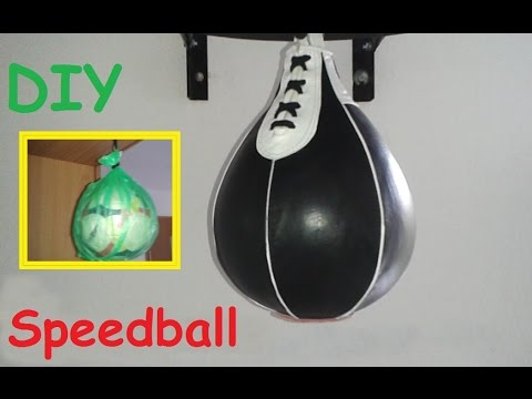 DIY:  How to make a Speed bag for boxing / Do it yourself equipment for training at home – Homemade