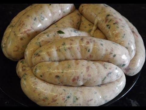 How To Make Sausages. Pork And Wild Garlic Sausage. #SRP