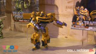 Toy Fair 2009 Hasbro Transformers Revenge Of The Fallen Hd - Collectiondx